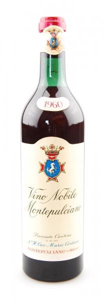 Wein 1960 Vino Nobile di Montepulciano Contucci
