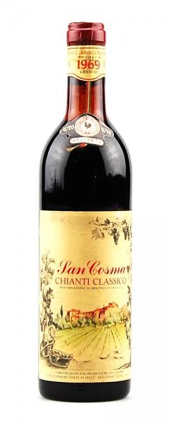 Wein 1969 Chianti Classico San Cosma
