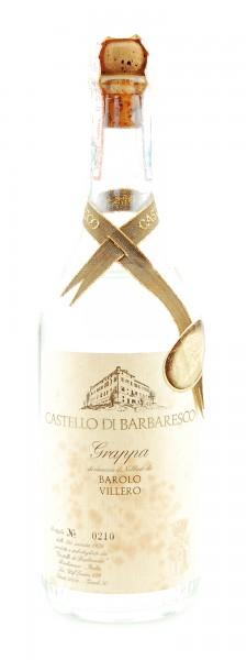 Grappa 1978 Barolo Villero Castello di Barbaresco