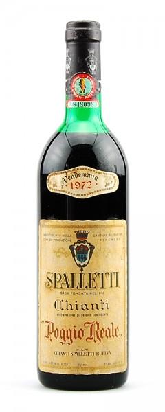 Wein 1972 Chianti Rufina Spalletti Poggio Reale