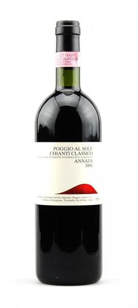 Wein 1991 Chianti Classico Poggio al Sole