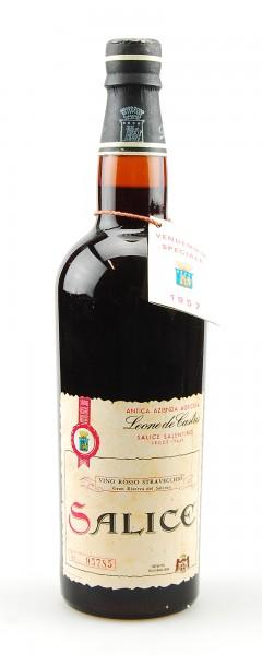 Wein 1957 Salice Leone de Castris Straveccio Salentino
