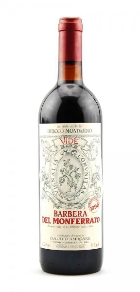 Wein 1990 Barbera del Monferatto Gaudio Amilcare