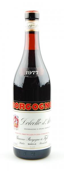 Wein 1977 Dolcetto d´Alba Giacomo Borgogno