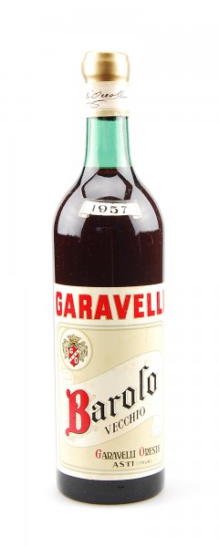 Wein 1957 Barolo Oreste Garavelli Vecchio