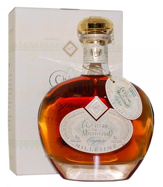 Cognac 1977 Chateau Montifaud Petite Champagne