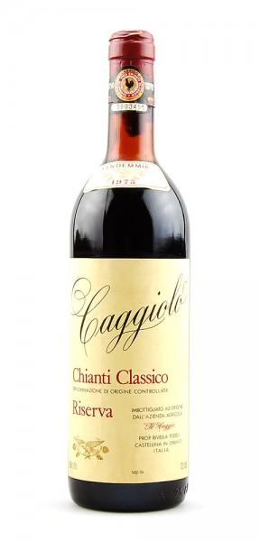 Wein 1975 Chianti Classico Il Caggio Riserva