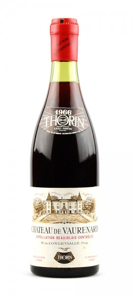 Wein 1966 Chateau de Vaurenard Thorin