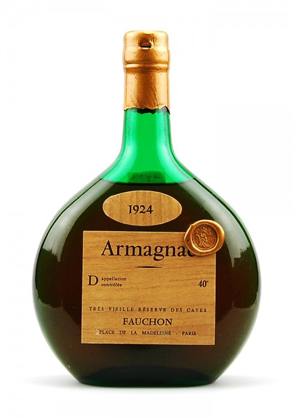 Armagnac 1924 Fauchon Tres Vieille Riserve des Caves
