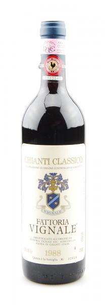 Wein 1988 Chianti Classico Fattoria Vignale