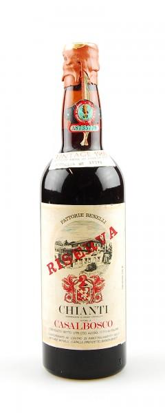 Wein 1966 Chianti Casalbosco Riserva