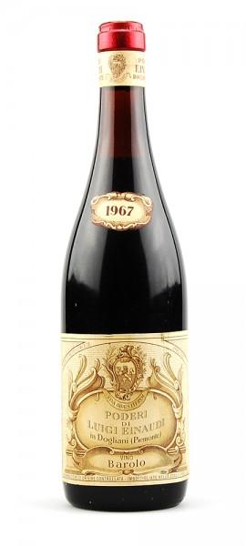 Wein 1967 Barolo Luigi Einaudi