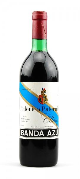Wein 1971 Banda Azul Federico Paternina