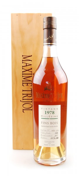 Cognac 1978 Maxime Trijol Fins Bois