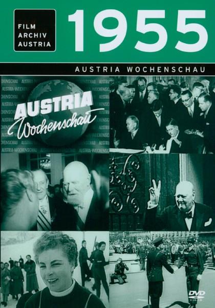 DVD 1955 Chronik Austria Wochenschau in Holzkiste