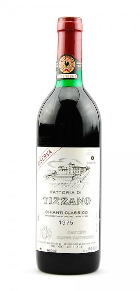 Wein 1975 Chianti Classico Riserva Fattoria di Tizzano