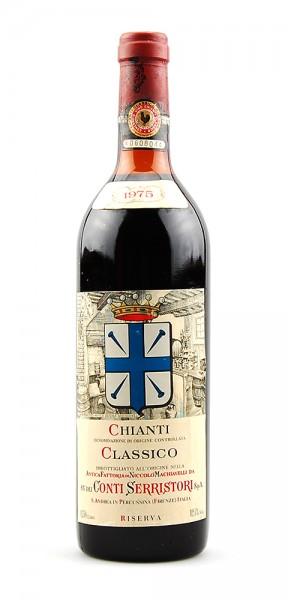 Wein 1975 Chianti Classico Conti Serristori Riserva