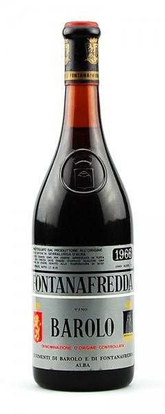 Wein 1966 Barolo Fontanafredda